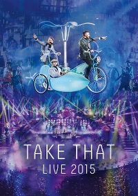 Cover Take That - Live 2015 [DVD]